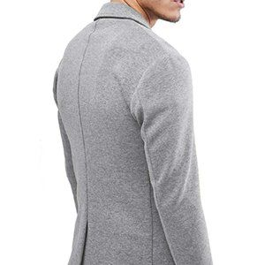 Other - Mens Casual Two Button Suits Lapel Blazer Jacket